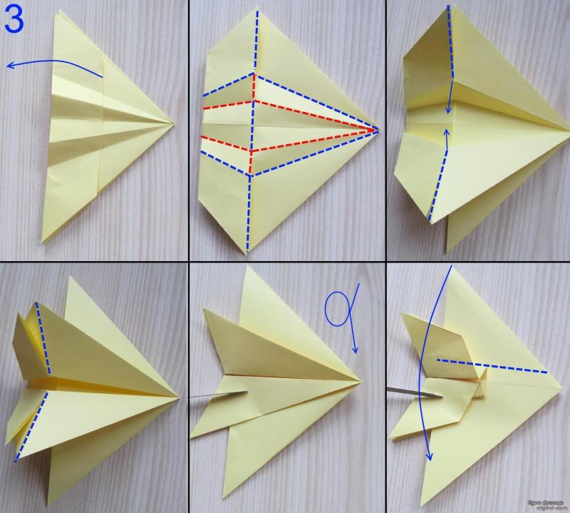 Как сделать самолет истребитель из бумаги видео